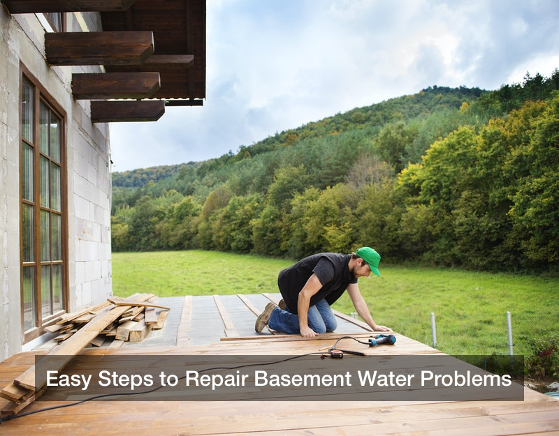 Easy Steps to Repair Basement Water Problems