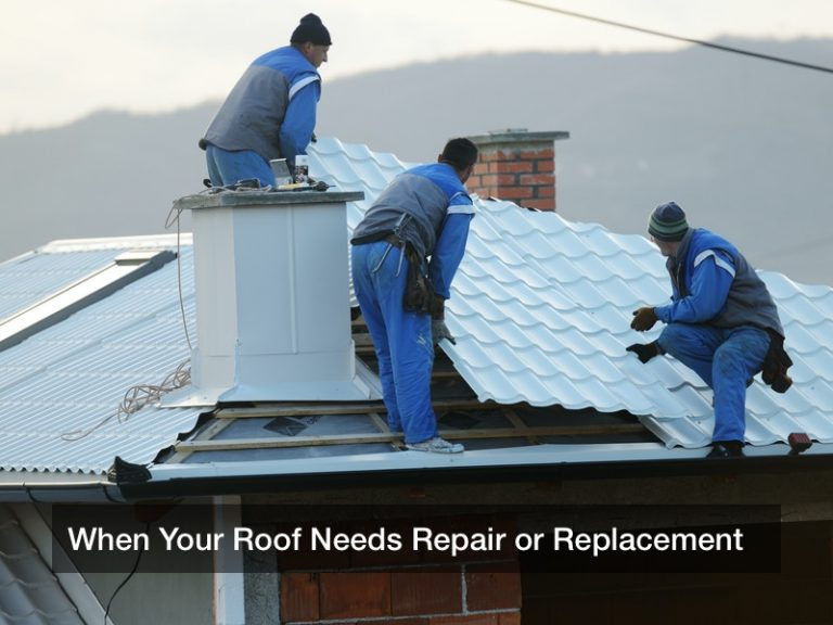 When Your Roof Needs Repair or Replacement