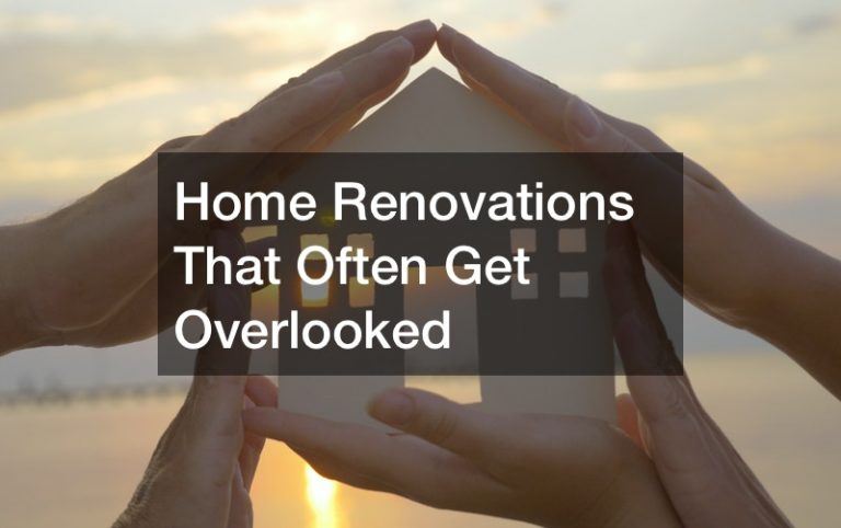 Home Renovations That Often Get Overlooked