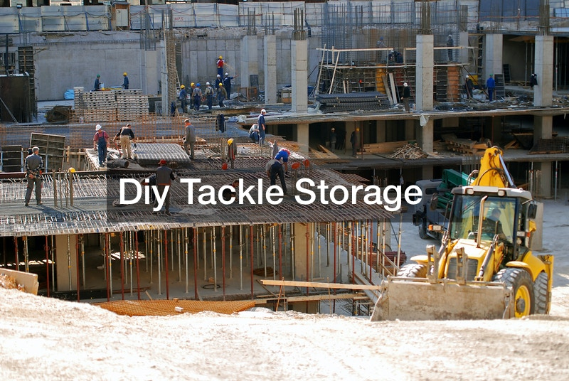 Diy Tackle Storage