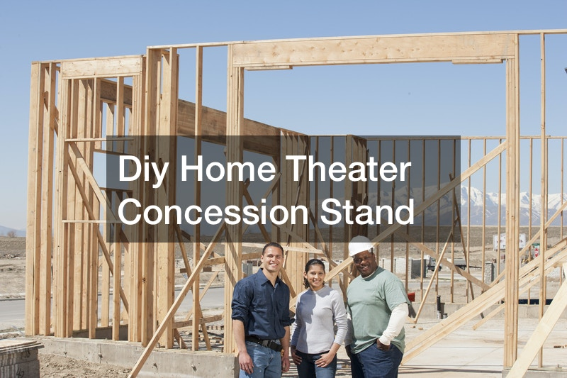 Diy Home Theater Concession Stand