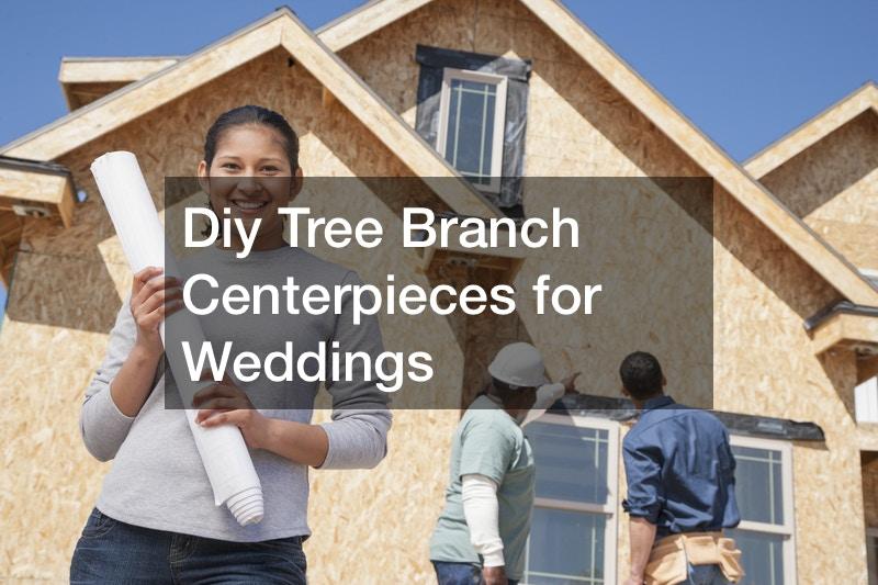 Diy Tree Branch Centerpieces for Weddings