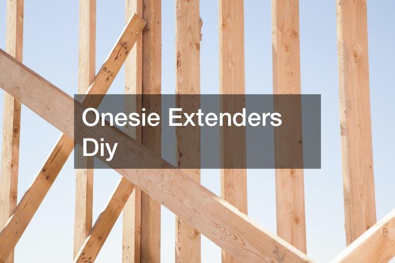 Onesie Extenders Diy