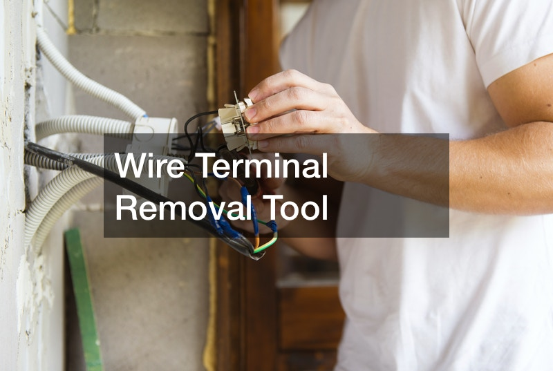 Wire Terminal Removal Tool