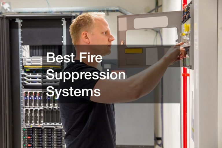 Best Fire Suppression Systems